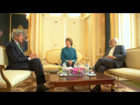 Catherine ASHTON leads Iran Nuclear talks in Vienna