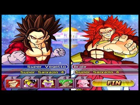 A MELHOR FUSÃO vs OS MELHORES VILÕES Dragon Ball Z Budokai Tenkaichi 3 LATINO
