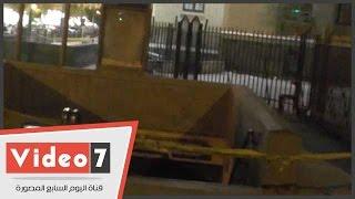 """استمرار غلق مدخل محطة """"جمال عبد الناصر"""" أمام دار القضاء العالى"""