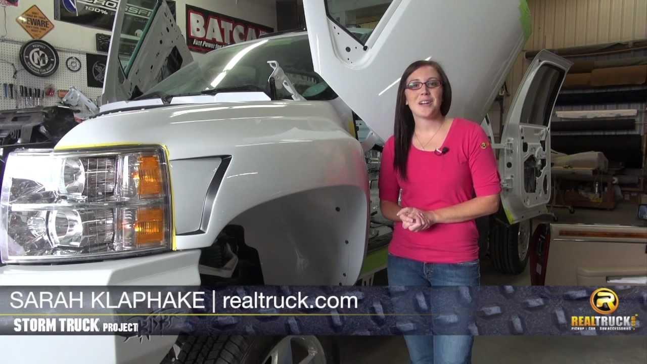 Storm Truck Project Episode 14 Custom Fenders Youtube