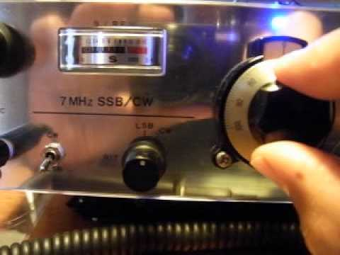 HAM RADIO  Home Brew Transceiver. 7Mhz  SSB /CW  mode.