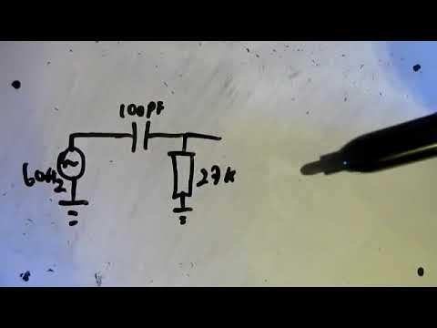 Capacitor e Filtros passa baixa/alta