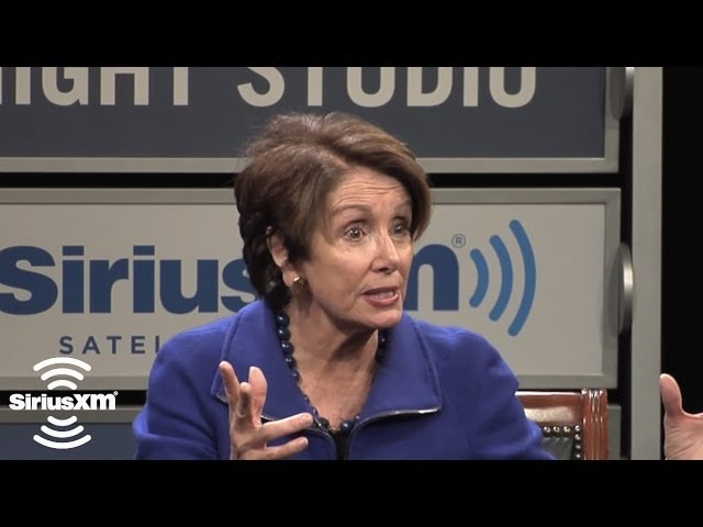 "Nancy Pelosi ""I'm Hopeful to Get a Vote on Minimum Wage and Immigration"" // SiriusXM"