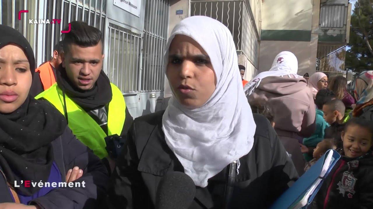 La Paillade : les résidents de la Tour d'Assas manifestent