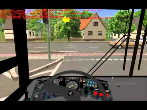 OMSI: Map: Nuertingen Bus: Mercedes Benz O405 N2