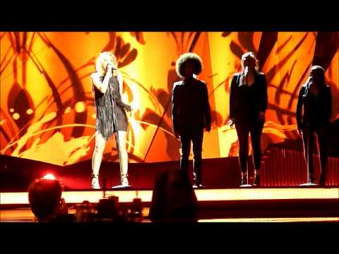 Eurovision 2013: Amandine Bourgeois - L'enfer Et Moi - France - Rehearsal