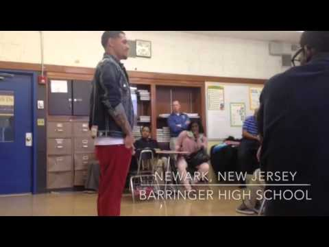 "Michael Angelo ""The Artist"" Perez - Motivational speaking (Barringer High School)"