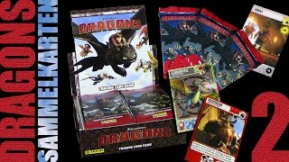 Dragons - Panini ® Trading Card Game - Sammelkarten Box Unboxing 2 / 2015 Re-Upload