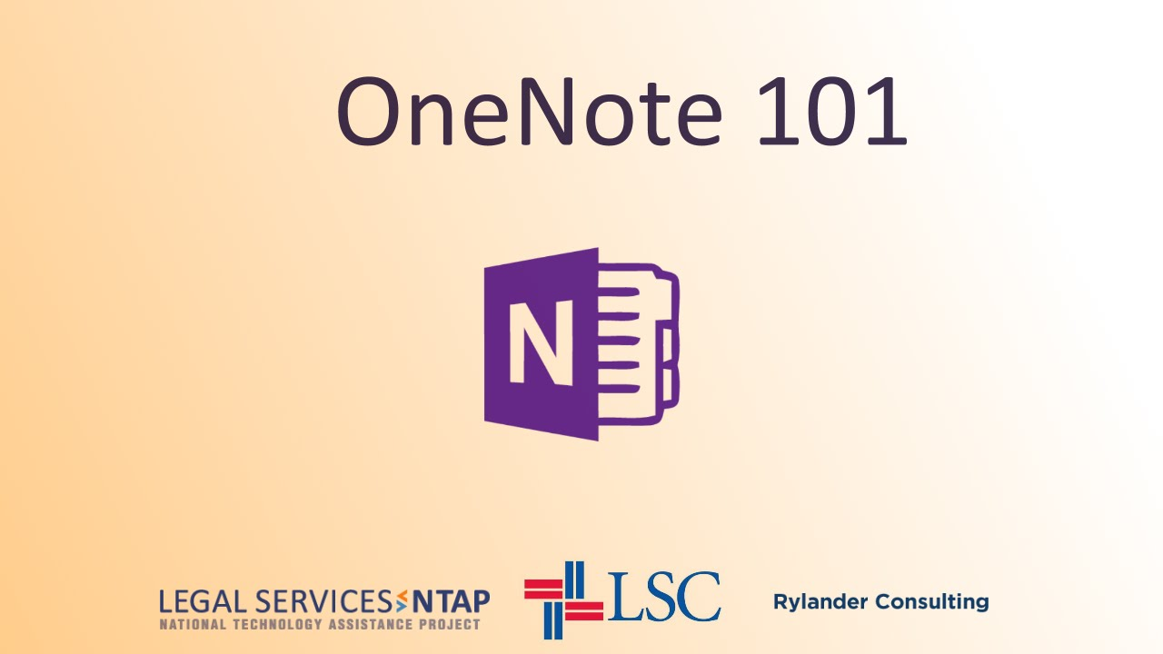 OneNote 101--September 9  2014 Onenote 2013 Icon