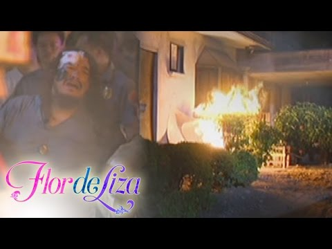 FlordeLiza: Gener's house is on fire
