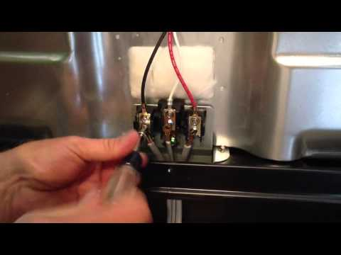 Hooking up an electric range By How-to Bob
