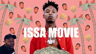 """21 SAVAGE """"ISSA MOVIE"""" ( OFFICIAL TRAILER ) Reaction"""