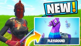 NEW *PLAYGROUND* LTM Gameplay!! (SO FUN!) | Fortnite Battle Royale Funny Moments 198