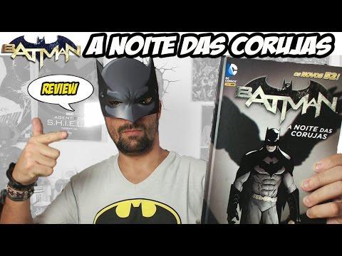 Batman - A noite das Corujas [Review HQ]