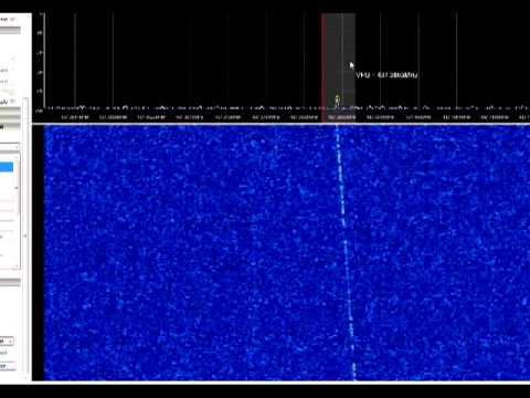 KKS-1 Satellite Beacon recorded with SDR# (SDRSharp)