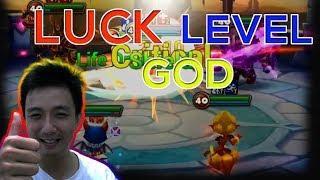 Try Hard English, Siege Luck Level GOD - isengdudegame Summoners War