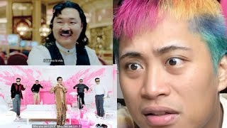 PSY NEW FACE AND I LUV IT MV REACTION