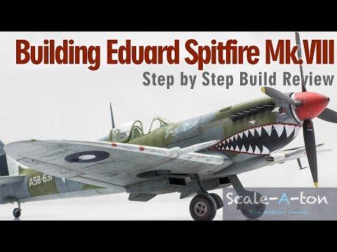 Eduard 1:48 Spitfire Mk.VIII Step by Step Model Aircraft Build