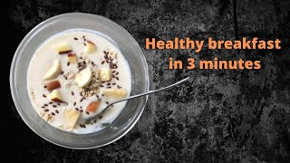 Granola | Healthy breakfast in 3 minutes