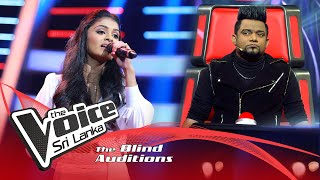 Lakshika Ranasinha - Ipida Mare Yali Ipide Blind Auditions| The Voice Sri Lanka