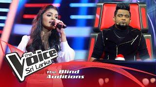 Lakshika Ranasinha - Ipida Mare Yali Ipide Blind Auditions| The Voice Sri Lanka