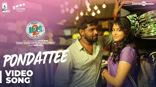 Golisoda 2 | Pondattee Video Song | SD Vijay Milton | Bharath Seeni, Samuthirakani | Achu