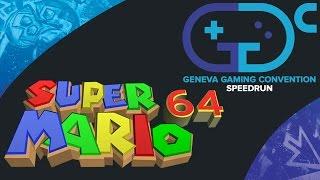 Speedrun @ GGC | Super Mario 64 70 Stars - Race Galax vs Drogie