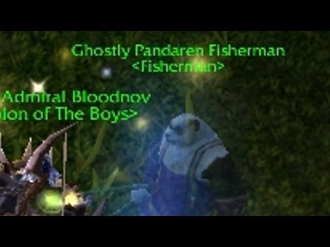 Ancient Pandaren Fishing Charm - Ghostly Pandaren Fisherman