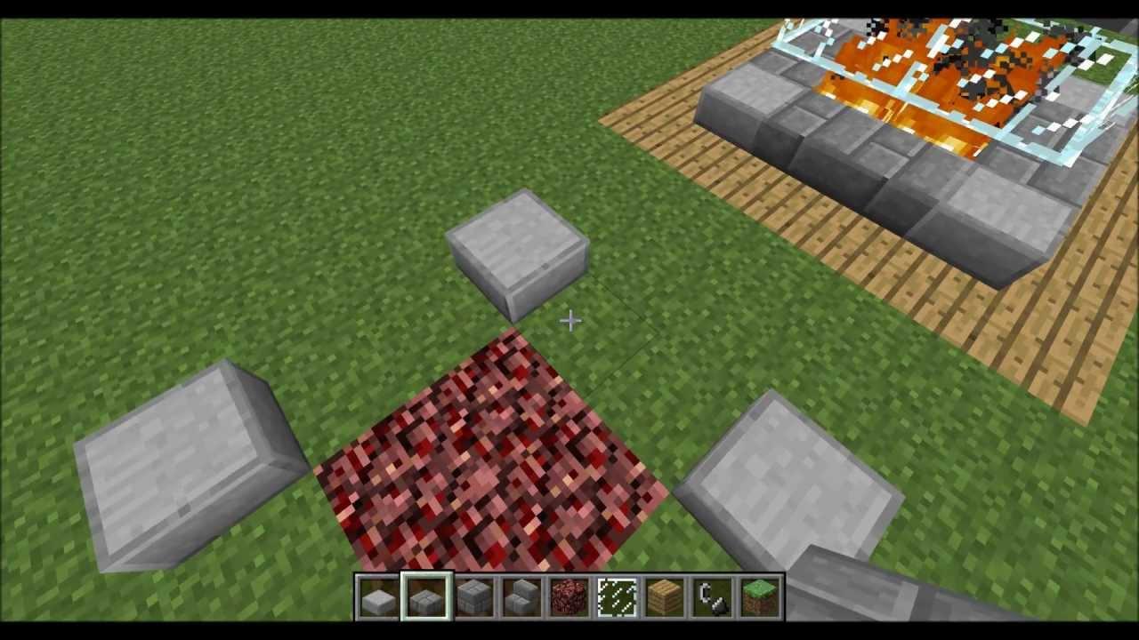 Tuto minecraft comment construire une chemin e youtube - Comment fabriquer une fausse cheminee ...