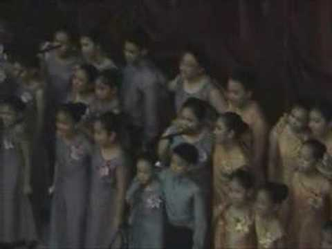 The Original Serenata - Isang Mundo, Isang Awit video