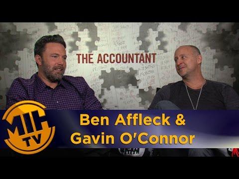 Ben Affleck & Gavin O'Connor The Accountant Interview