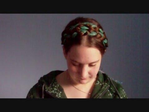 Hair Tutorial Scarf Series Renaissance Heidi Braids