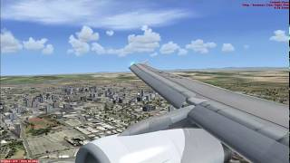 aterrizaje en cartagena de indias~colombia~[ FSX ]