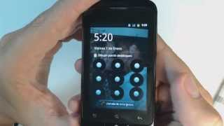 Alcatel OT 918 - How to reset - Como restablecer datos de fabrica