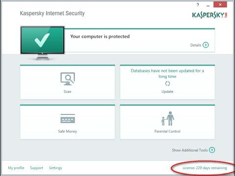 حصري شرح تفعيل Kaspersky internet Security 2015
