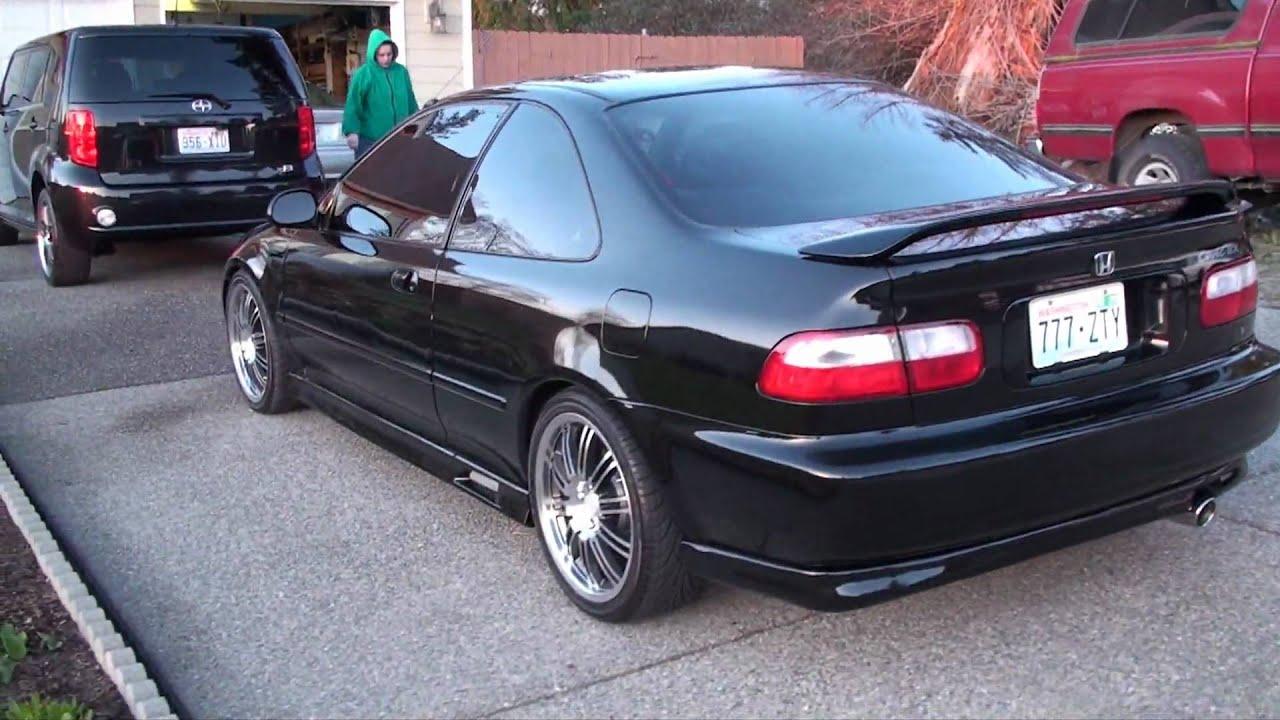 Honda Civic Si 1995 Hatchback >> BEST 94 Honda Civic SI - YouTube