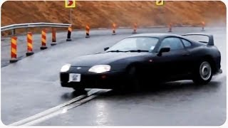 How to Drift in the Rain | #ThrowbackThursday