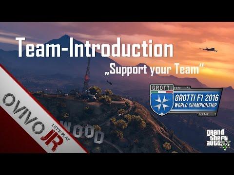 GTA V 2016 Grotti F1 World Championship - Team-Introduction [HD]