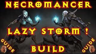 Diablo 3 Inarius Lazy Storm Necromancer Summoner Build 2.6