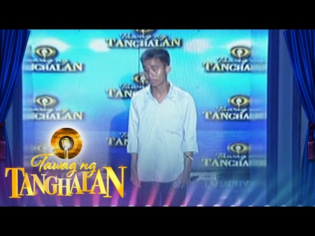 Tawag ng Tanghalan: Carlmalone Montecido gets the golden microphone!
