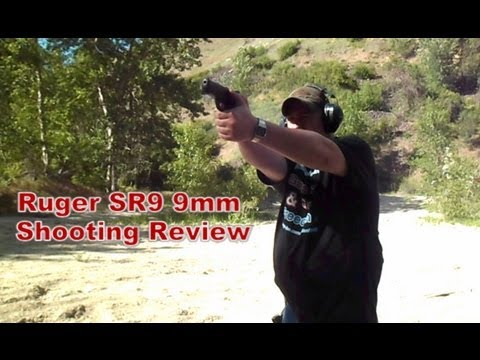 RUGER SR9 9MM PISTOL: TEST SHOOTING (HD)
