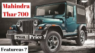 Mahindra Thar 700 launched at Rs 9.99 lakh | Price | Features | Autoinfo Hindi