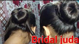 खुद से बनाए bridal juda बहुत ही आसान तरीके से