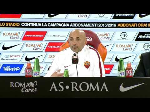 Spalletti, conferenza stampa pre Carpi-Roma (VIDEO INTEGRALE HD) 11.02.16