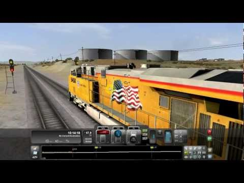 Railworks 3 Train Simulator 2012 - EPIC Derail Flying GE ES44AC UP