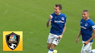 Bernard puts Everton in front against West Ham United | Premier League | NBC Sports