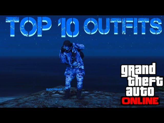 GTA 5 ONLINE - MY TOP 10 COOLEST OUTFITS! - GUNRUNNING DLC