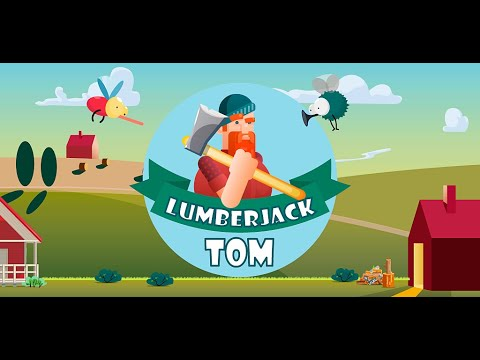 Lumberjack Tom-cut with an axe thumb