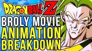 Broly: The Legendary Super Saiyan - ANIMATION BREAKDOWN (Dragon Ball Z)