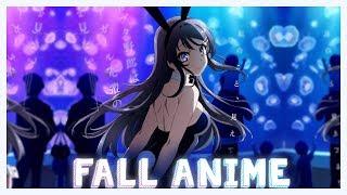 Upcoming Anime Fall 2018